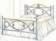 Кровать на заказ по вашим размерам