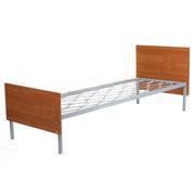Кровати металлические с деревянными быльцами,  Кровати из массива сосны
