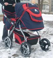 Продам зимнюю детскую коляску-трансформер